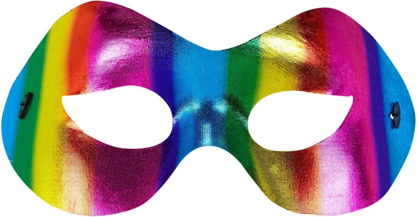 Uniseks regenboog oogmasker