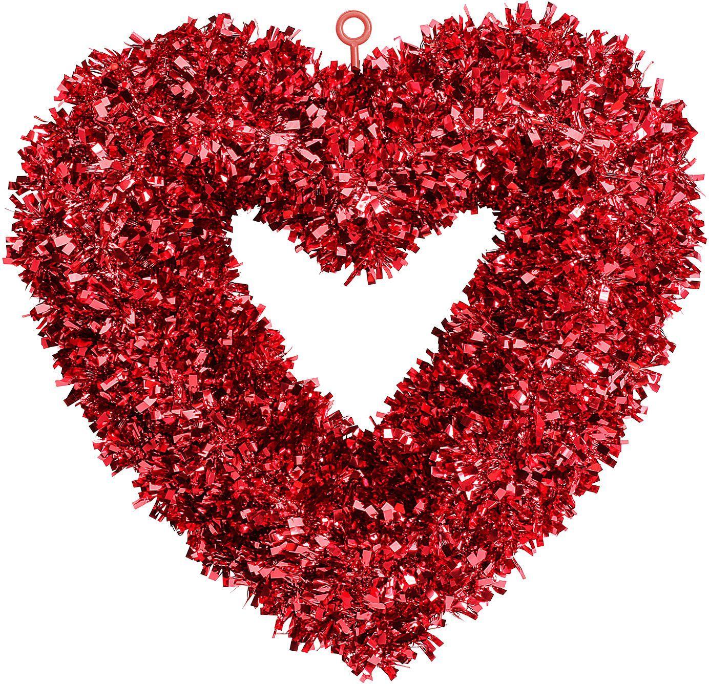 Valentijn decoratie hart rood
