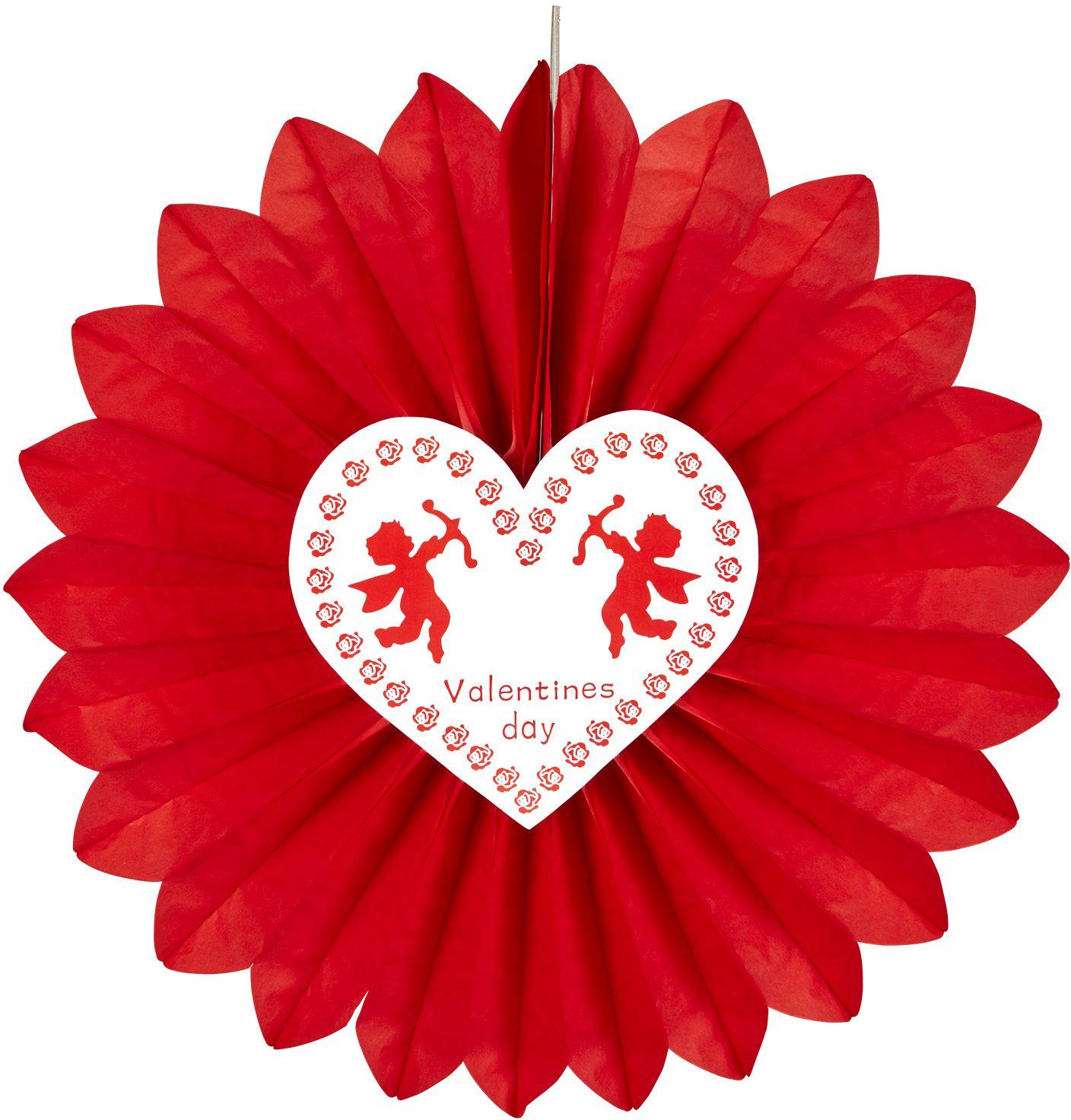 Valentijnsdag waaier