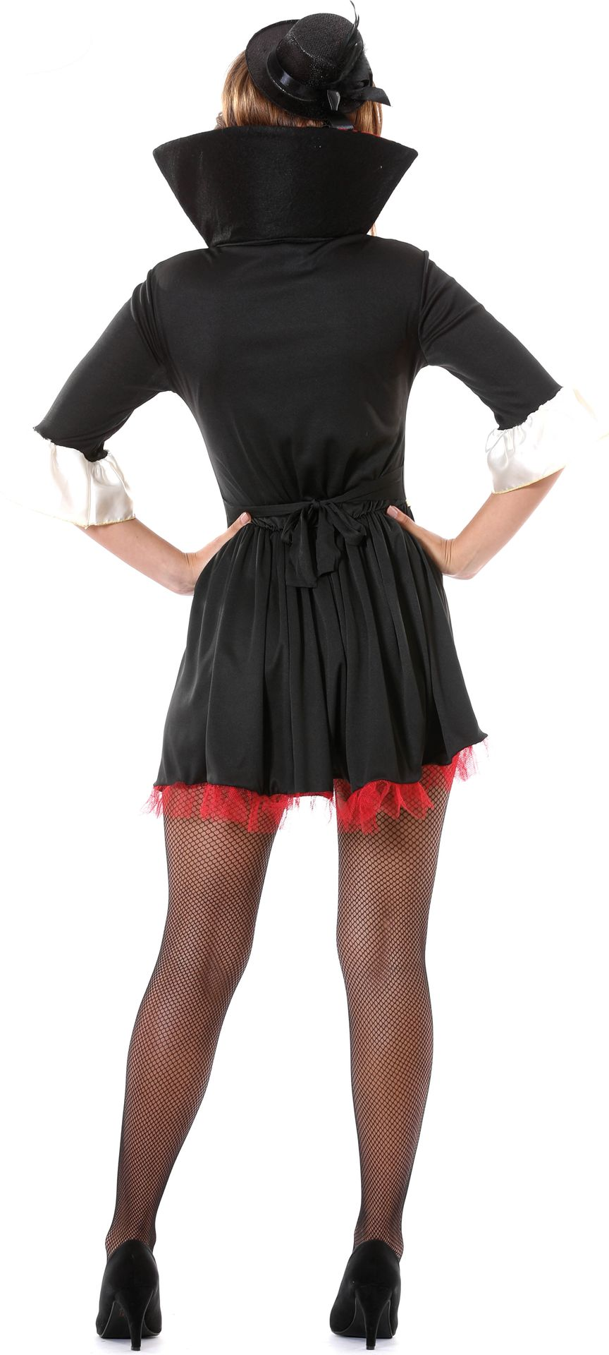 Vampier dame kostuum