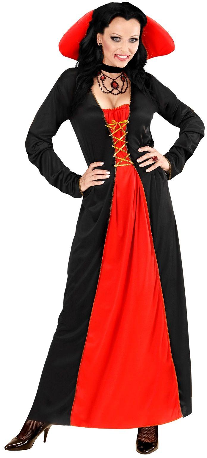 Vampier jurk vrouw