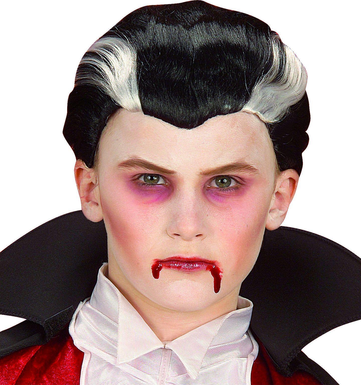 Vampier kinder pruik