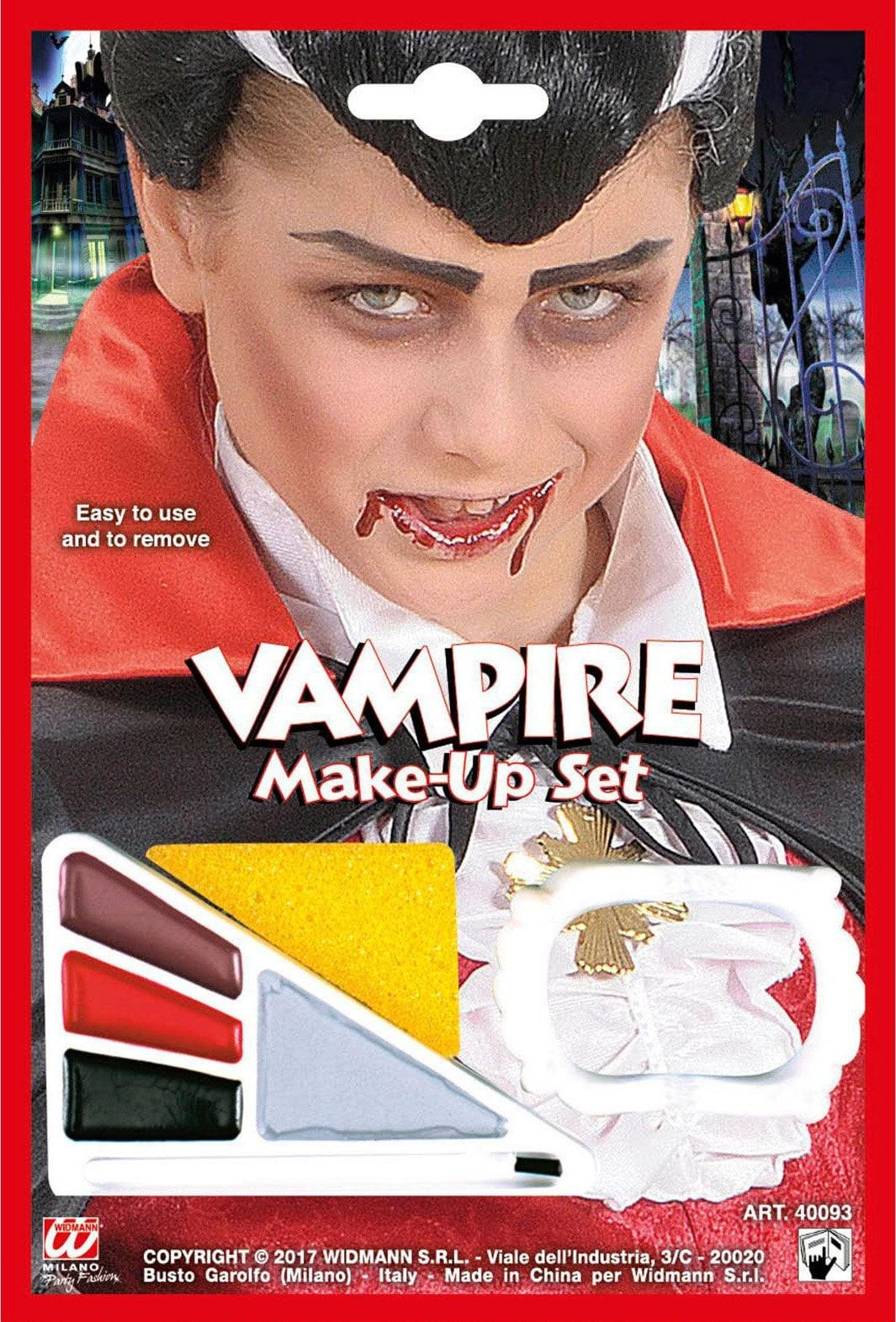 Vampier make-up setje jongens