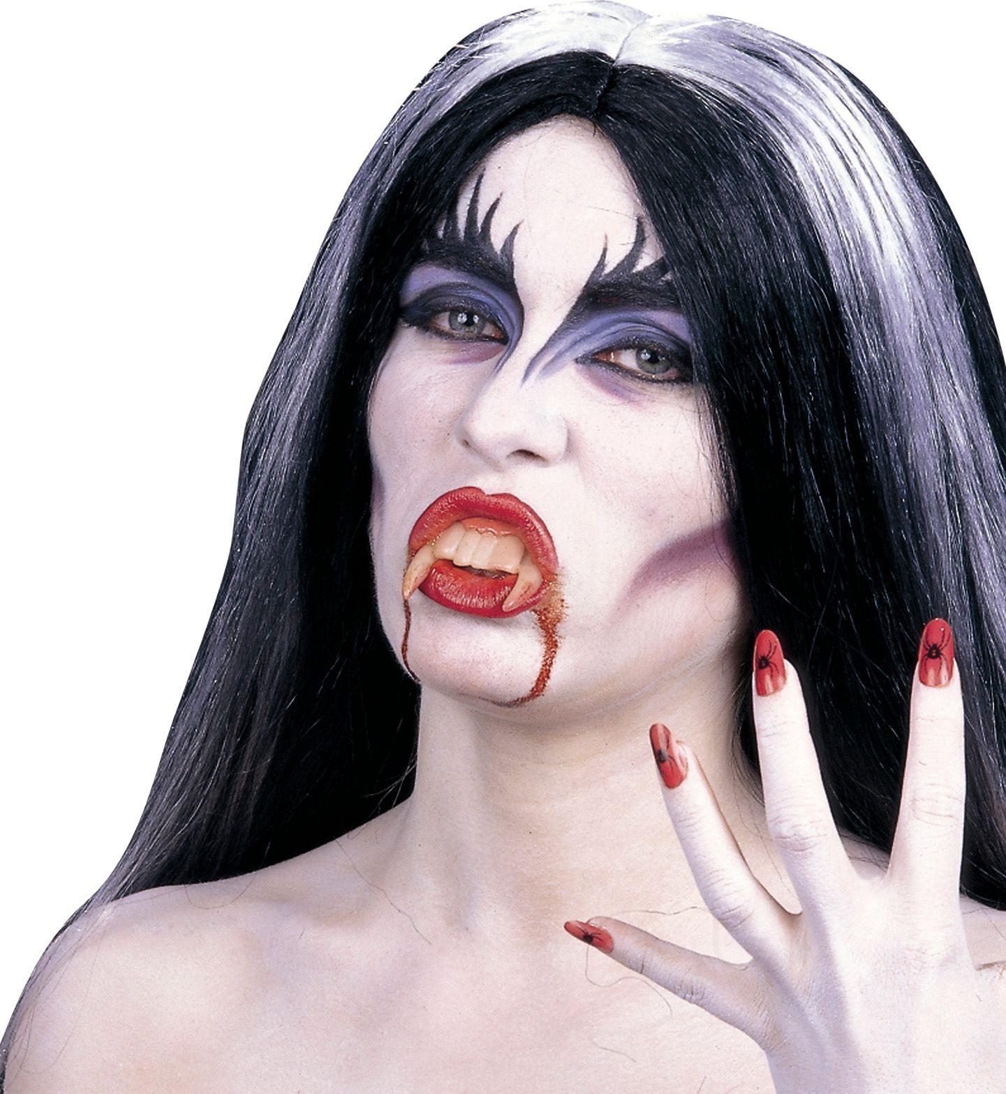 Vampier schmink met accessoires