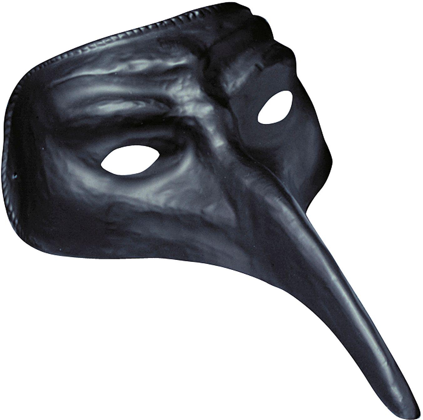 Venetiaanse carnavals oogmasker zwart