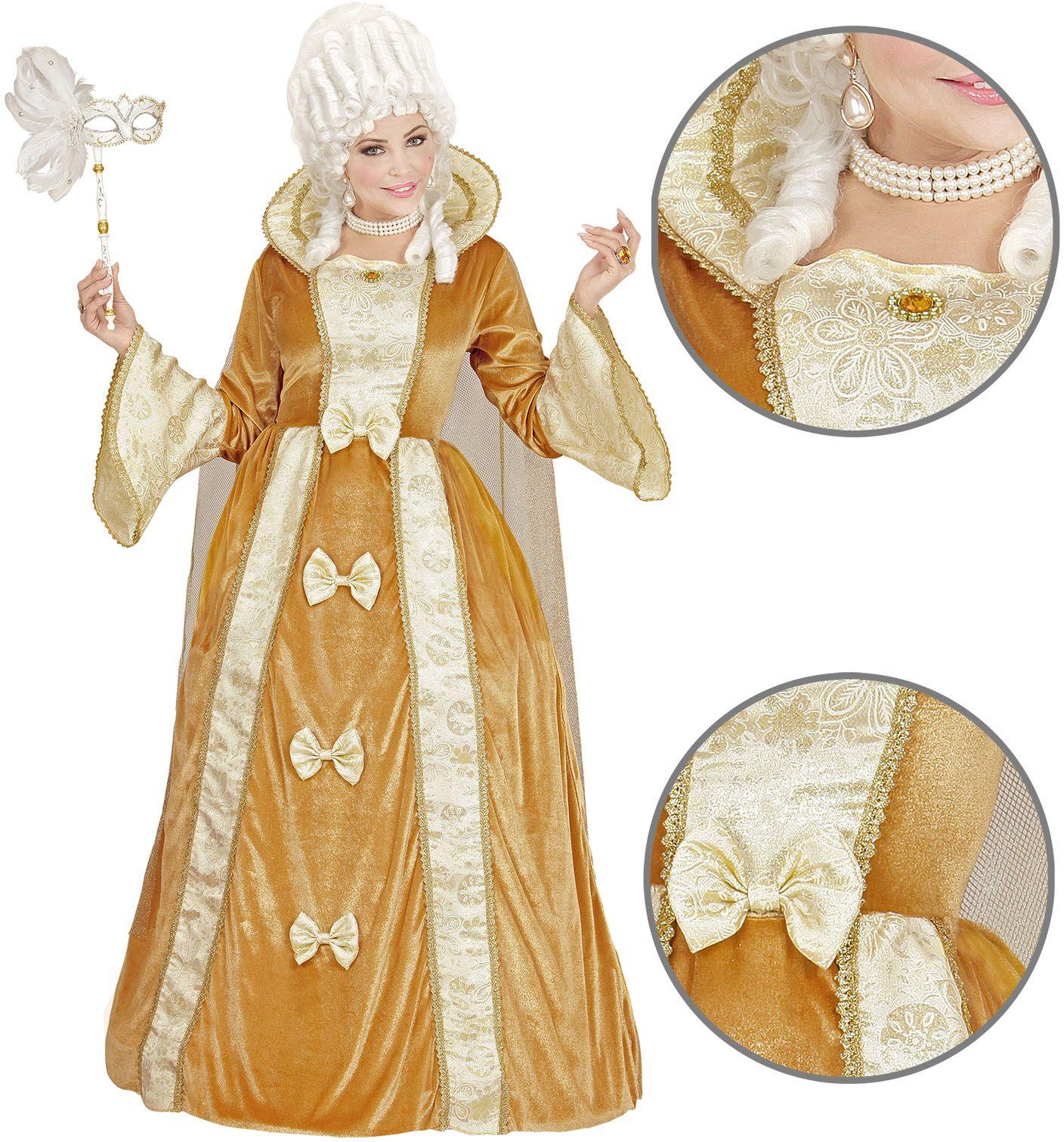 Venetiaanse edelvrouw jurk