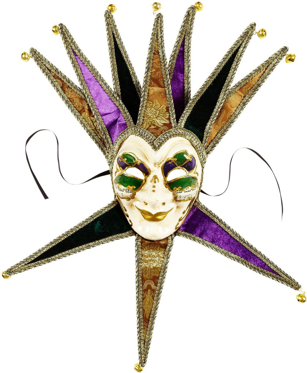 Venetiaanse Joker masker