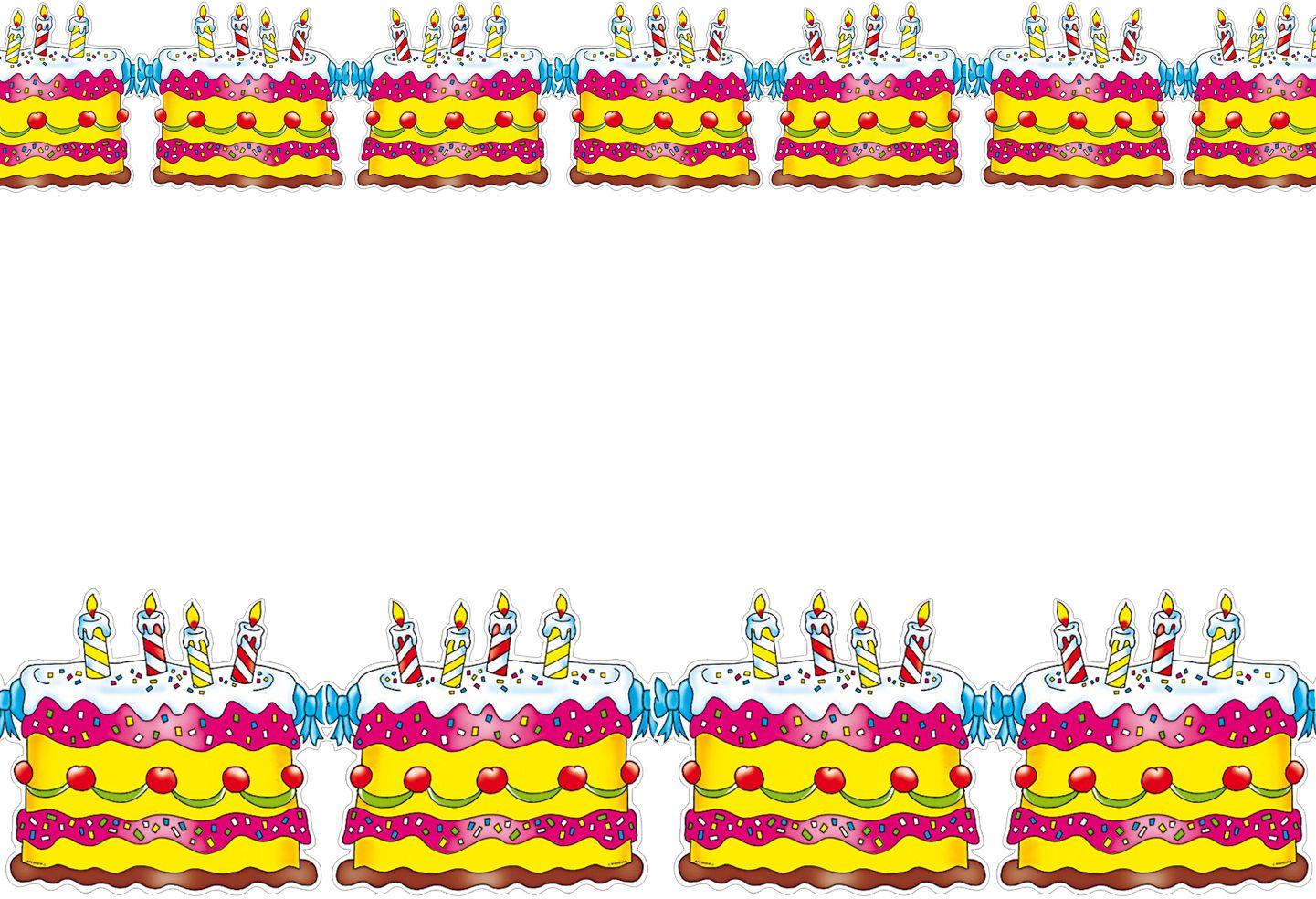 Verjaardagstaart slinger