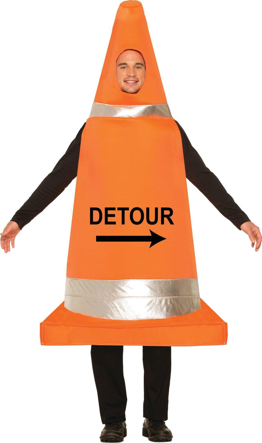 Verkeerskegel kostuum