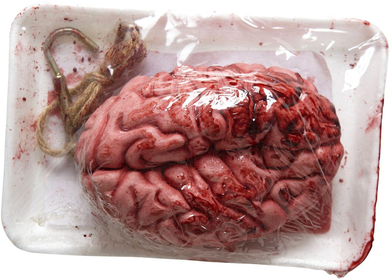 Verpakte bloedende hersenen