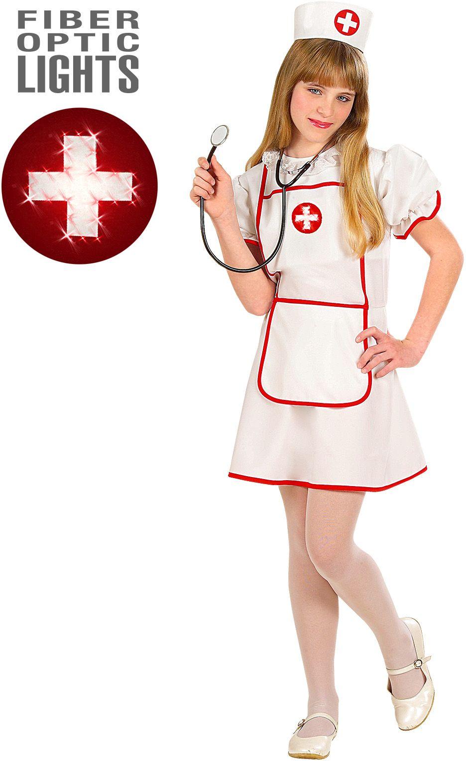 Verpleegster meisje kostuum