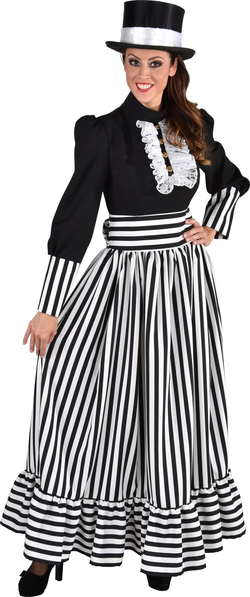Victoriaanse dames jurk