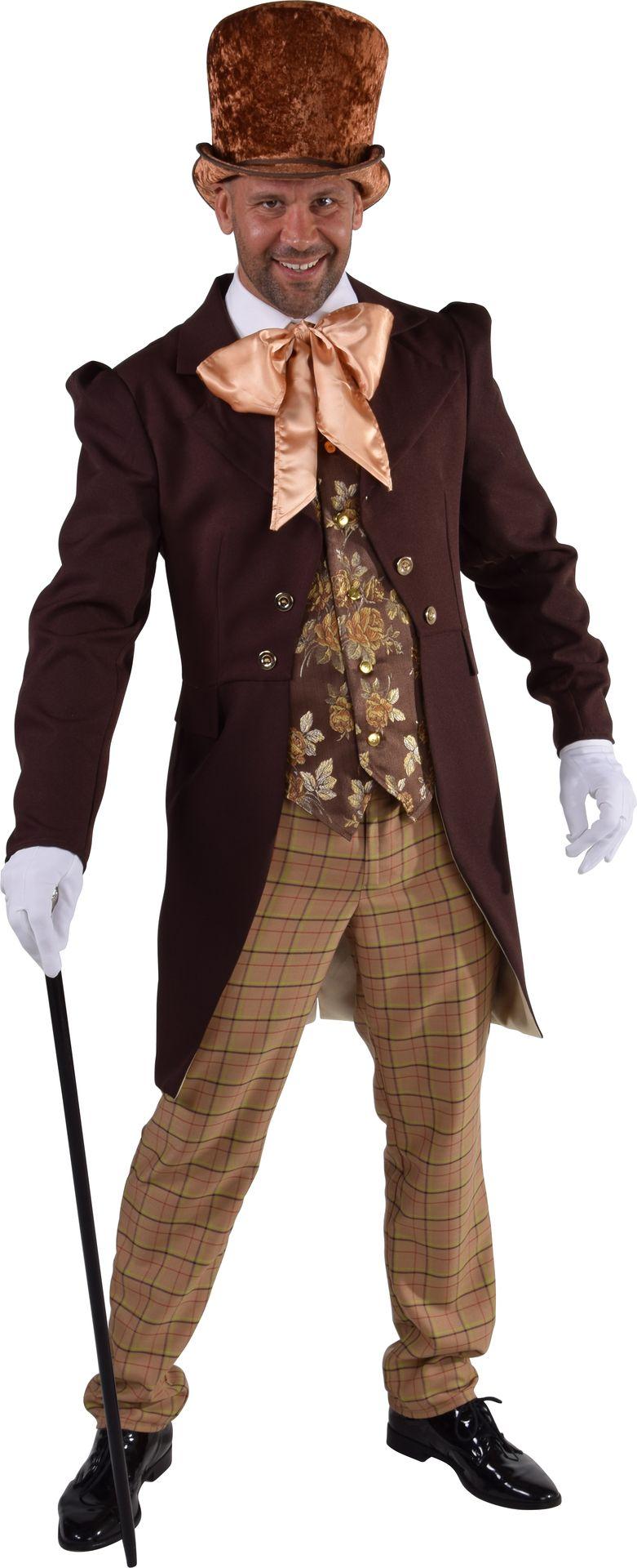 Victoriaanse heren kostuum