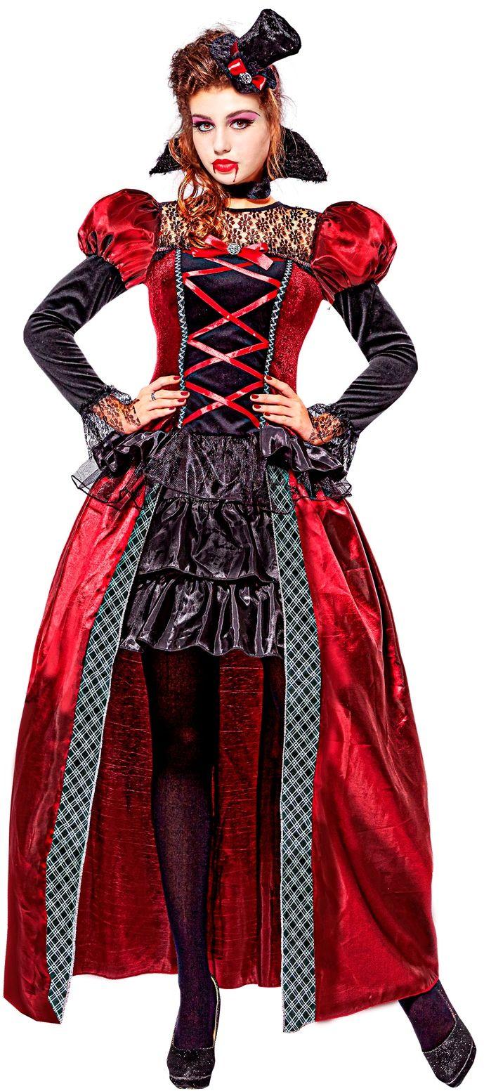 Victoriaanse vampier jurkje