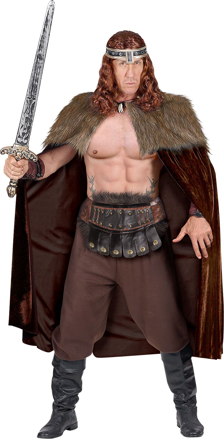 Viking cape mannen
