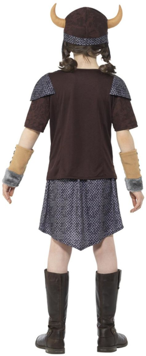 Viking meisjes kostuum