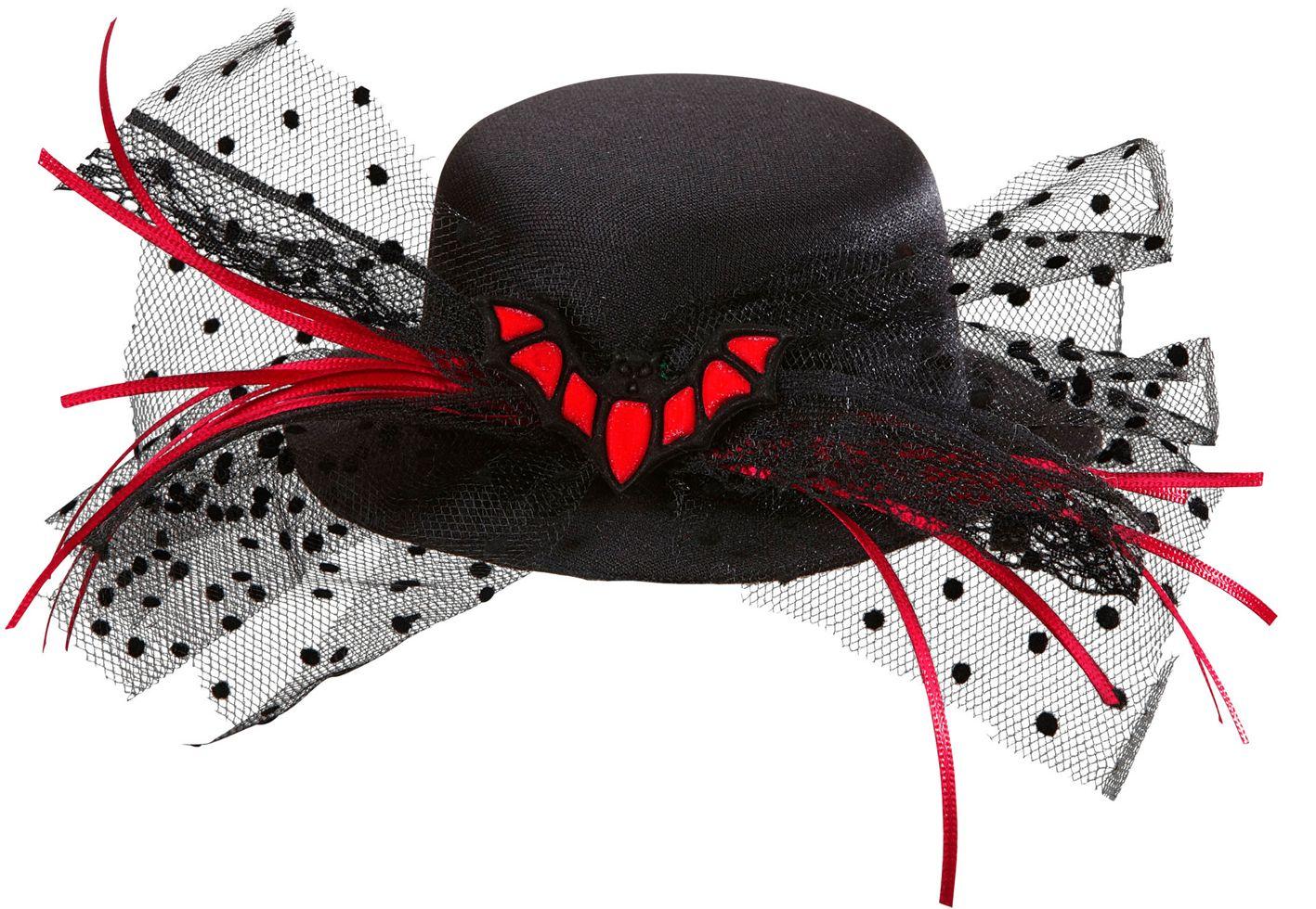 Vleermuis mini hoge hoed