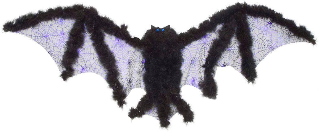 Vleermuis vleugels met marabou