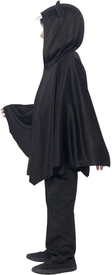 Vleermuizen cape zwart