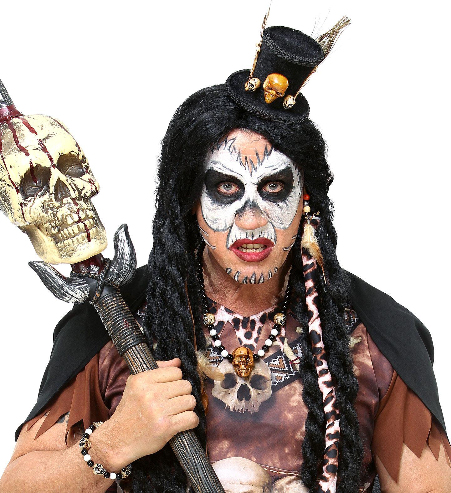 Voodoo priester accessoire set