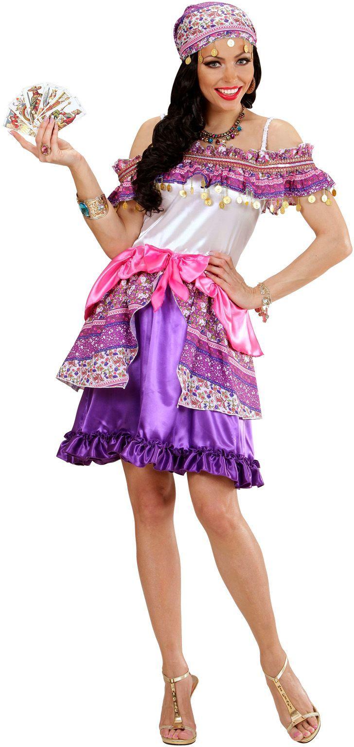Vrolijke zigeunerin kostuum