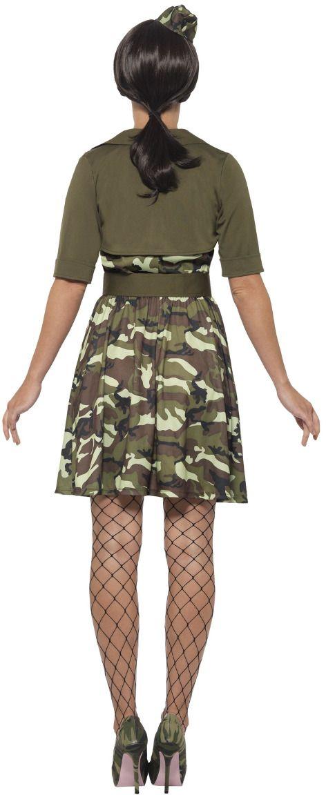Vrouwelijke cadet kostuum leger