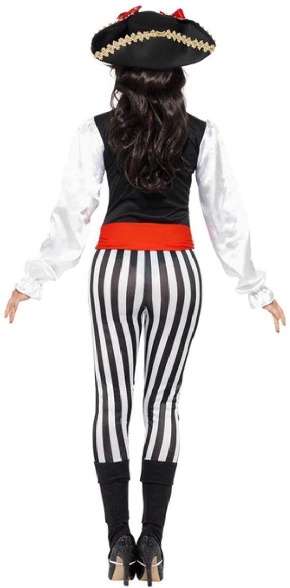 Vrouwelijke piraten kostuum
