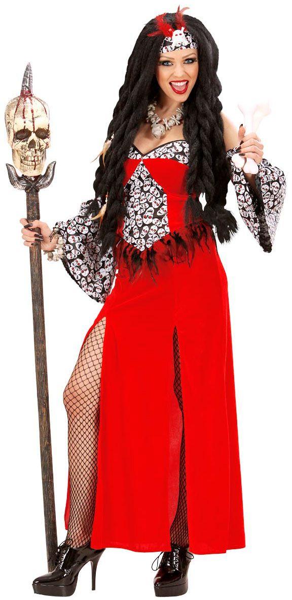 Vrouwelijke priester kostuum