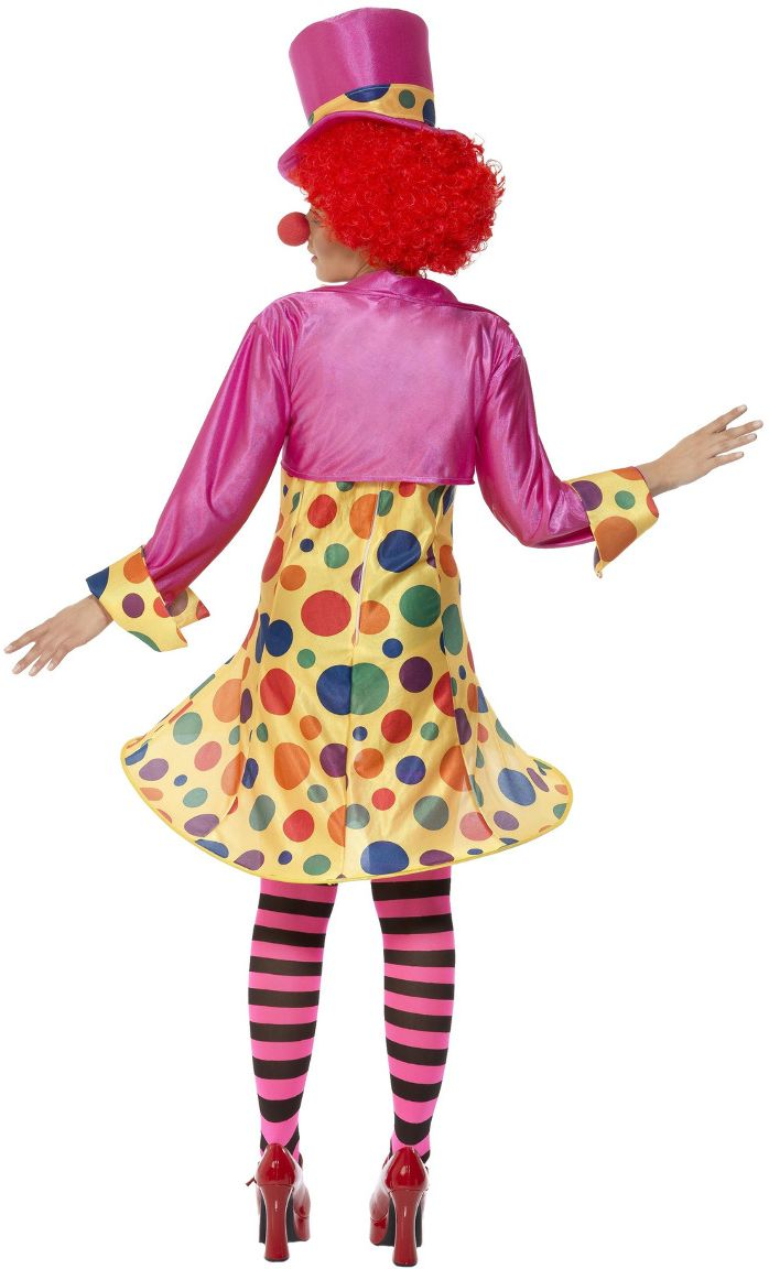 Vrouwen clown outfit