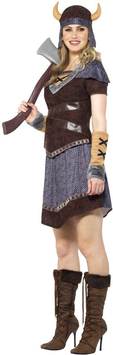 Vrouwen viking jurk