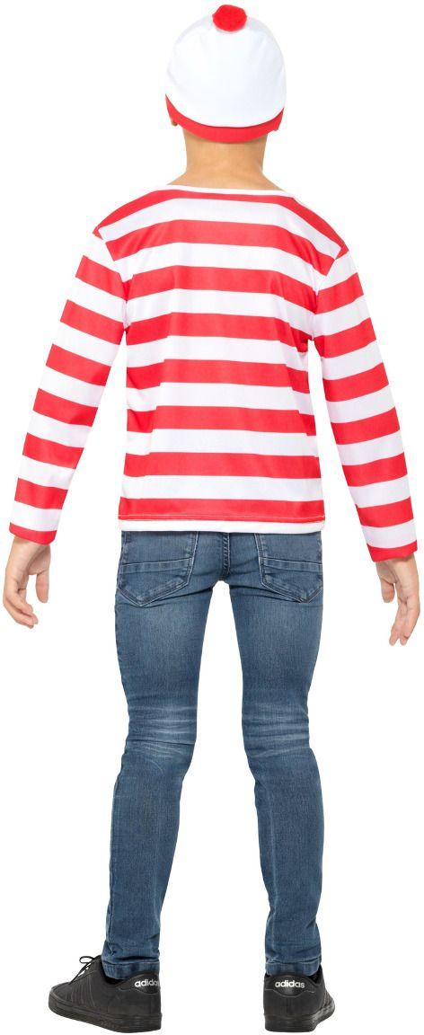 Waar is Wally jongens verkleedset