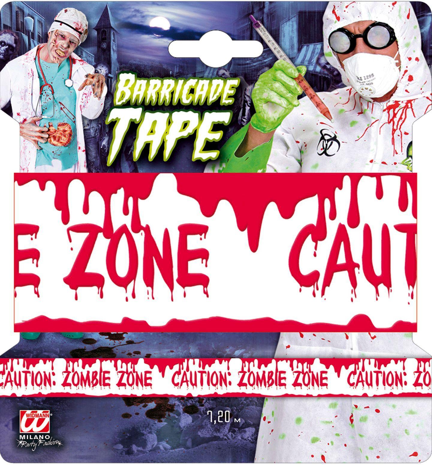 Waarschuwingslint: Zombie zone