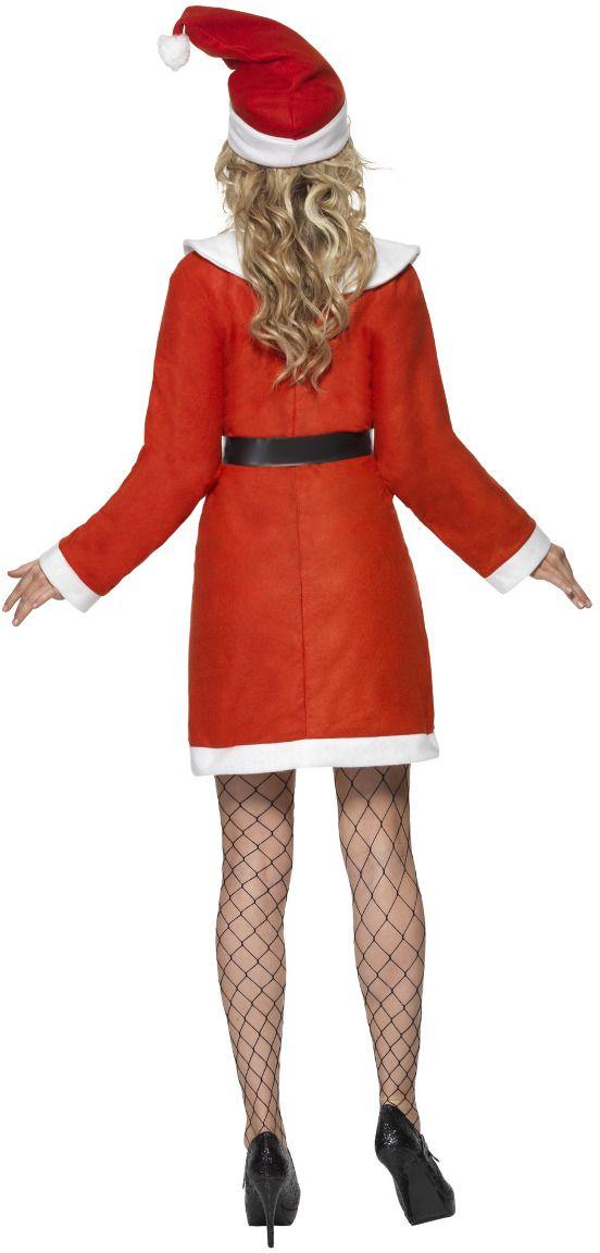 Warme kerstvrouw pakje