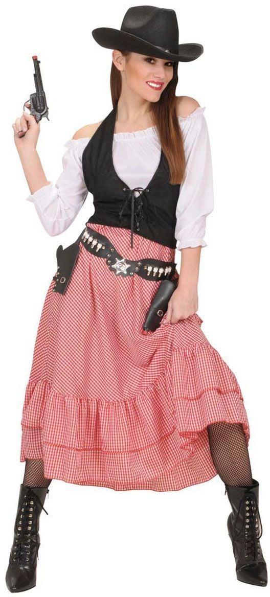 Western Dame Kostuum