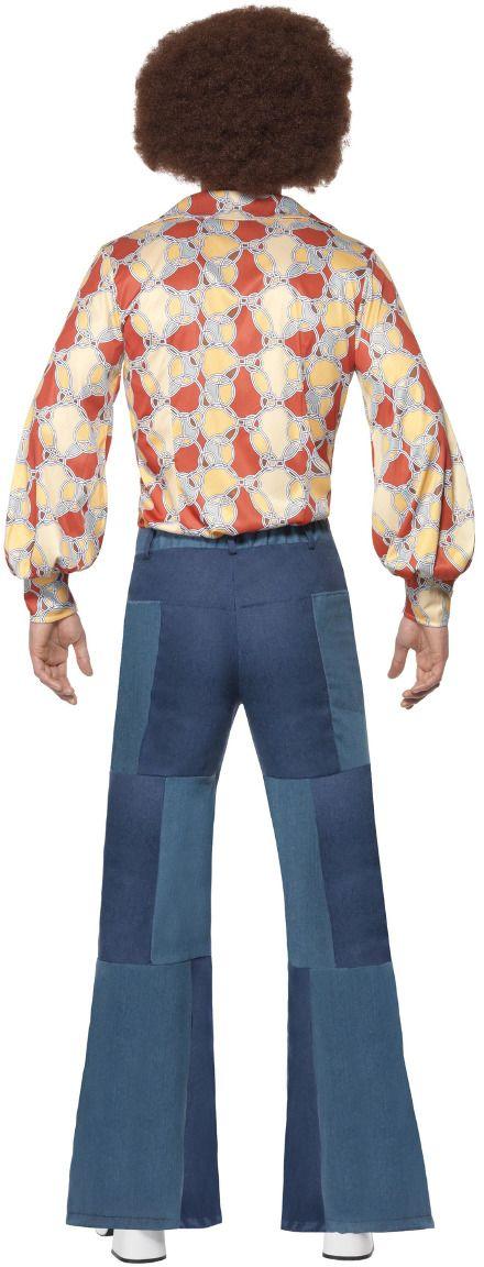 Wijde luxe jaren 70 broek