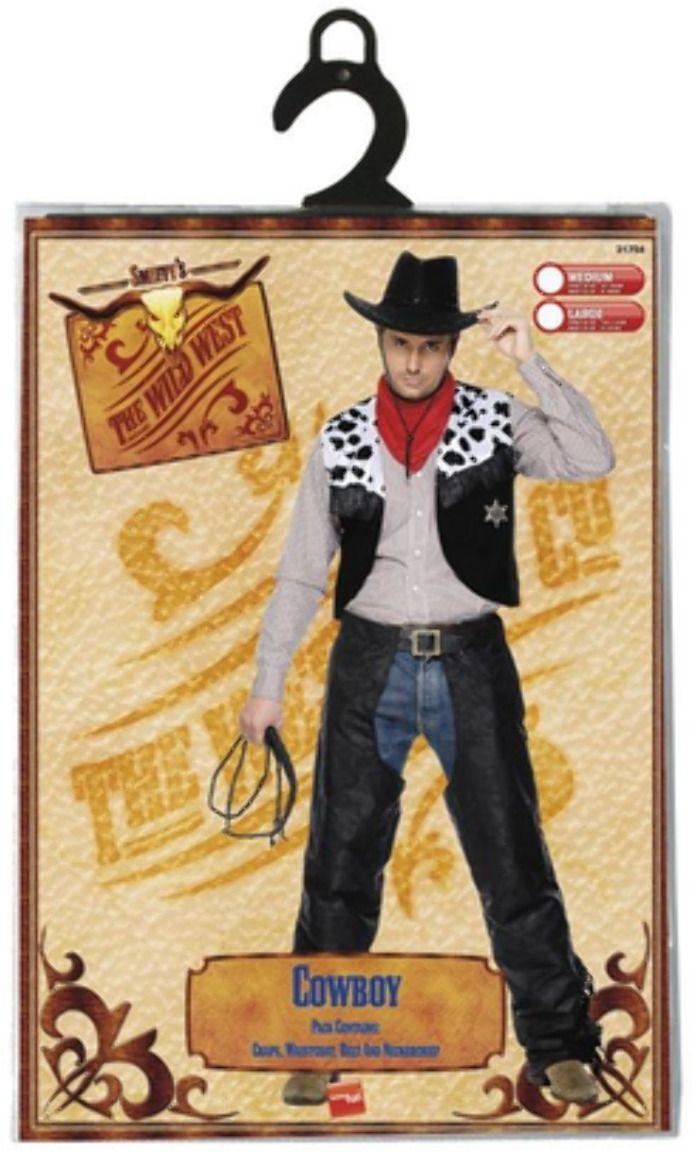 Wild cowboy kostuum