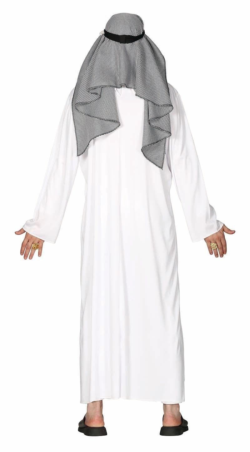 Wit Arabisch sjeik gewaad