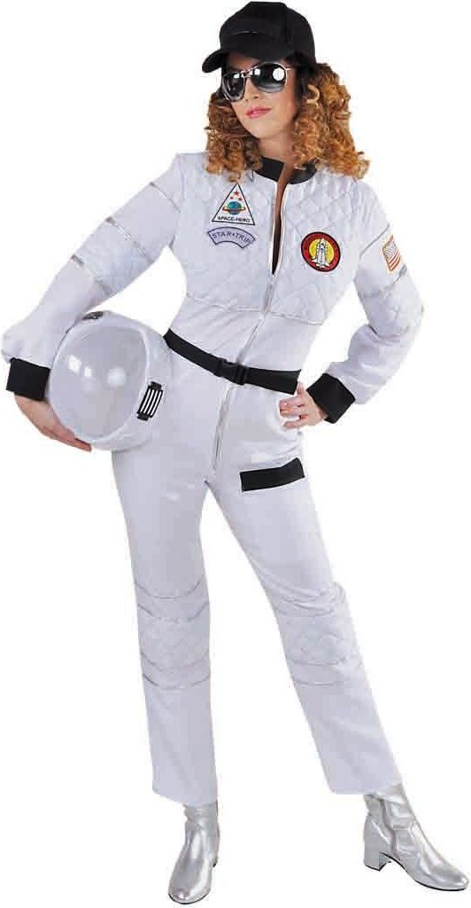 Wit astronaut overal dames
