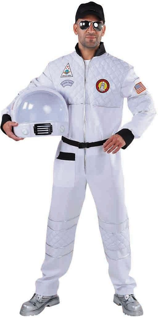 Wit astronaut overall man