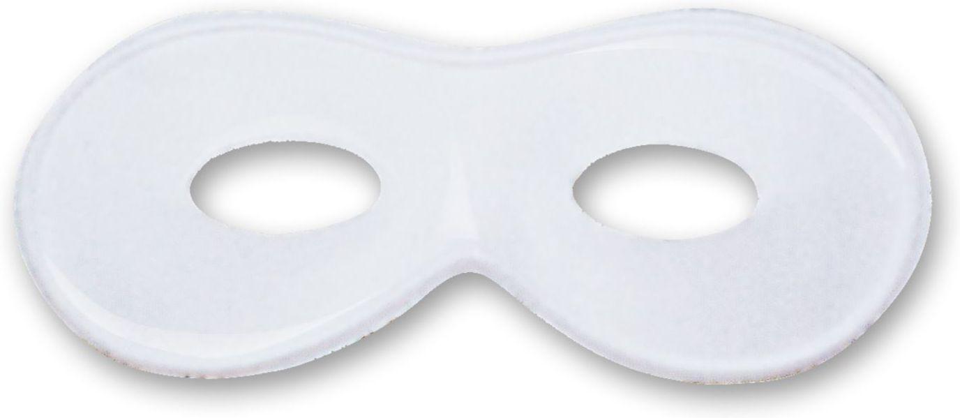Wit beschilderbaar oogmasker