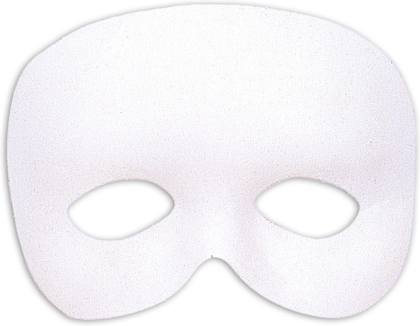 Wit fantoom oogmasker