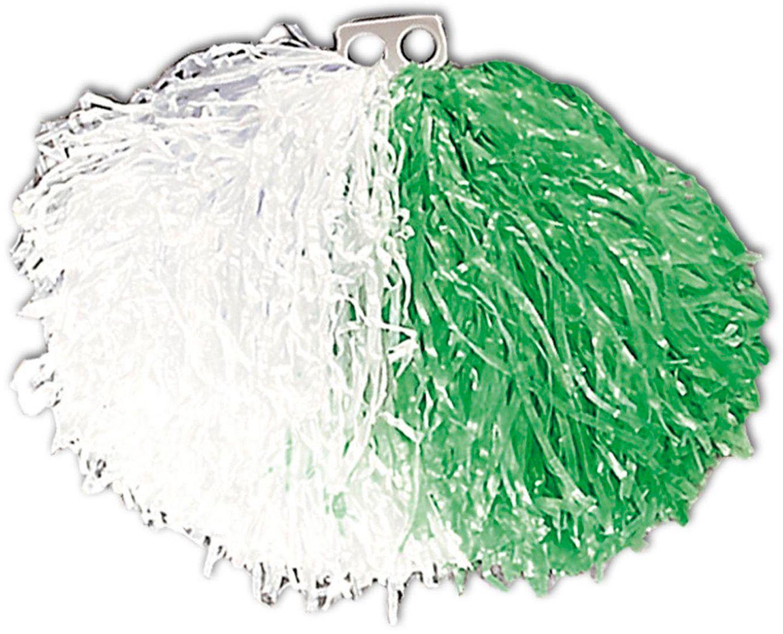 Wit groene cheerleader Pom Pom