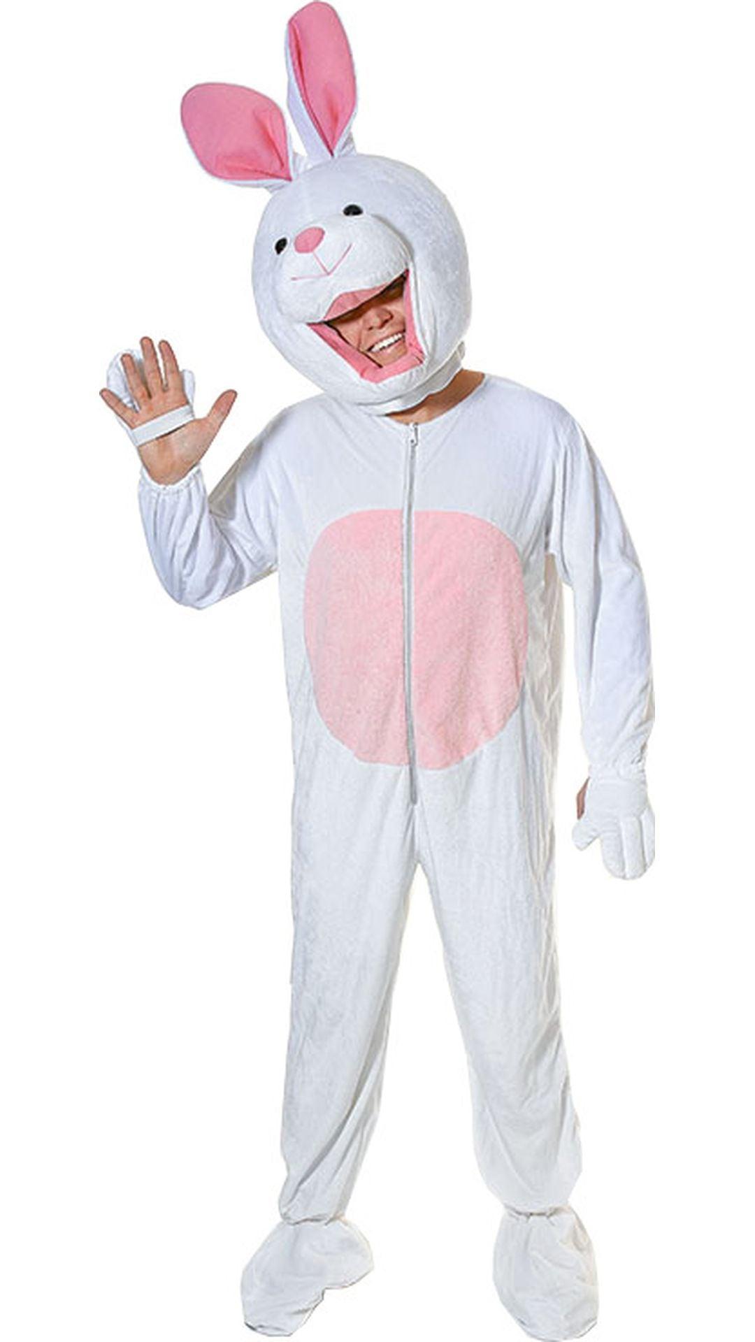 Wit konijnenpak