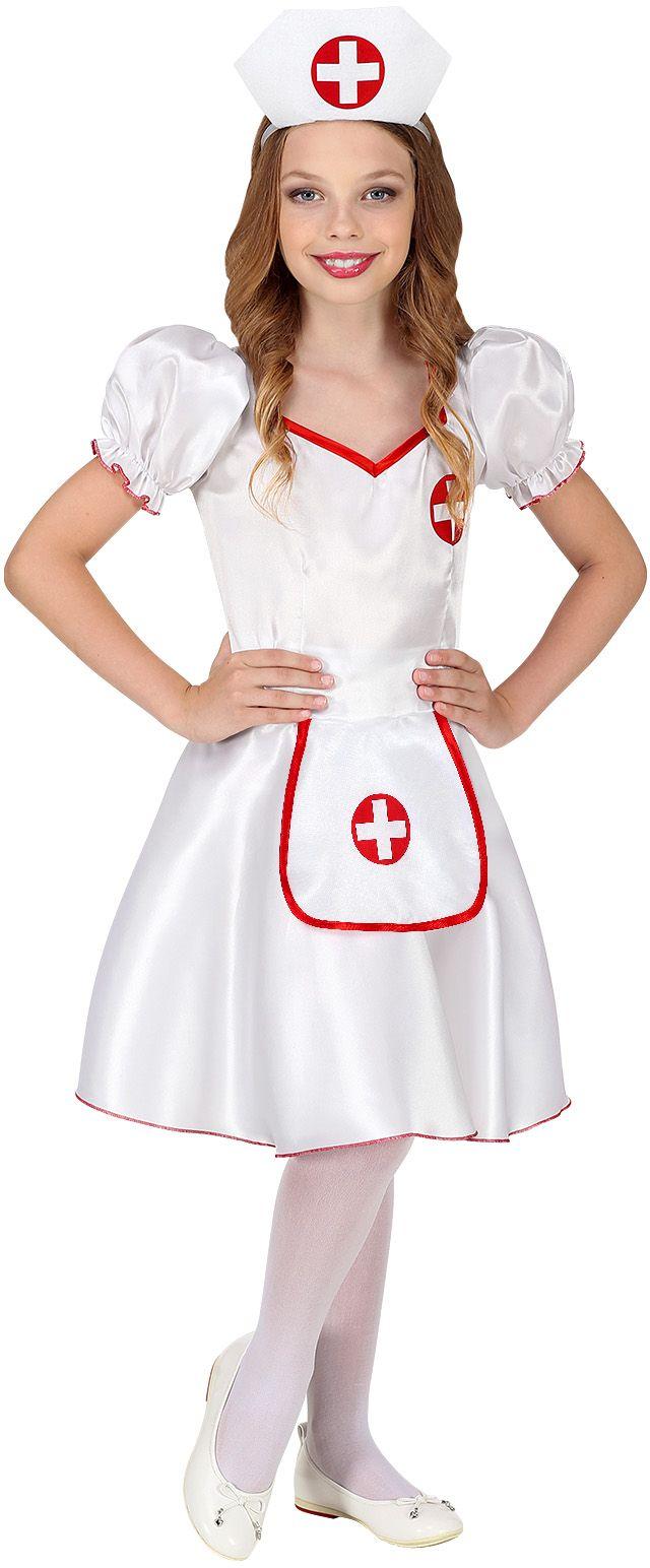 Wit verpleegster pakje meisjes