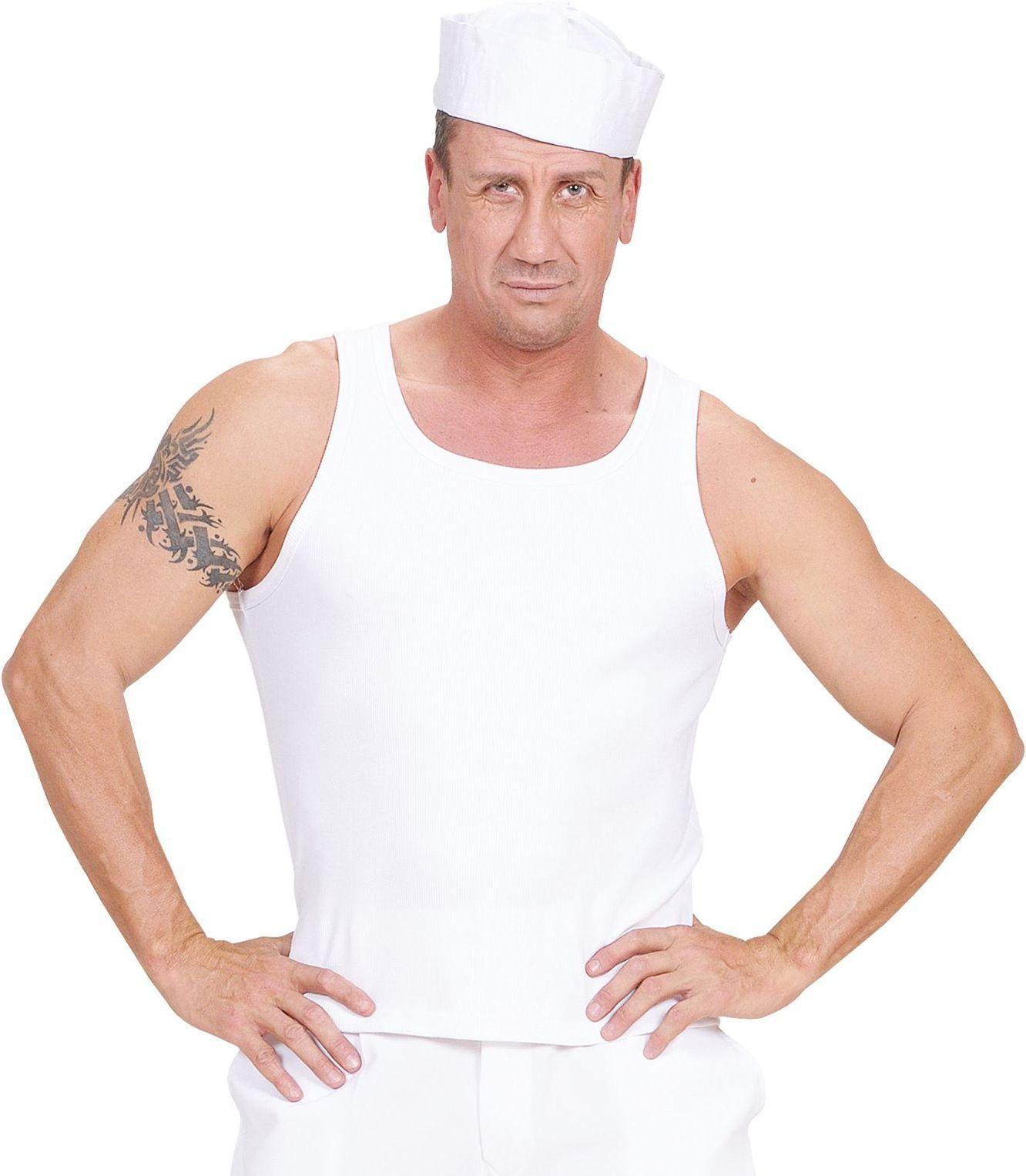 Wit zeemanshirt