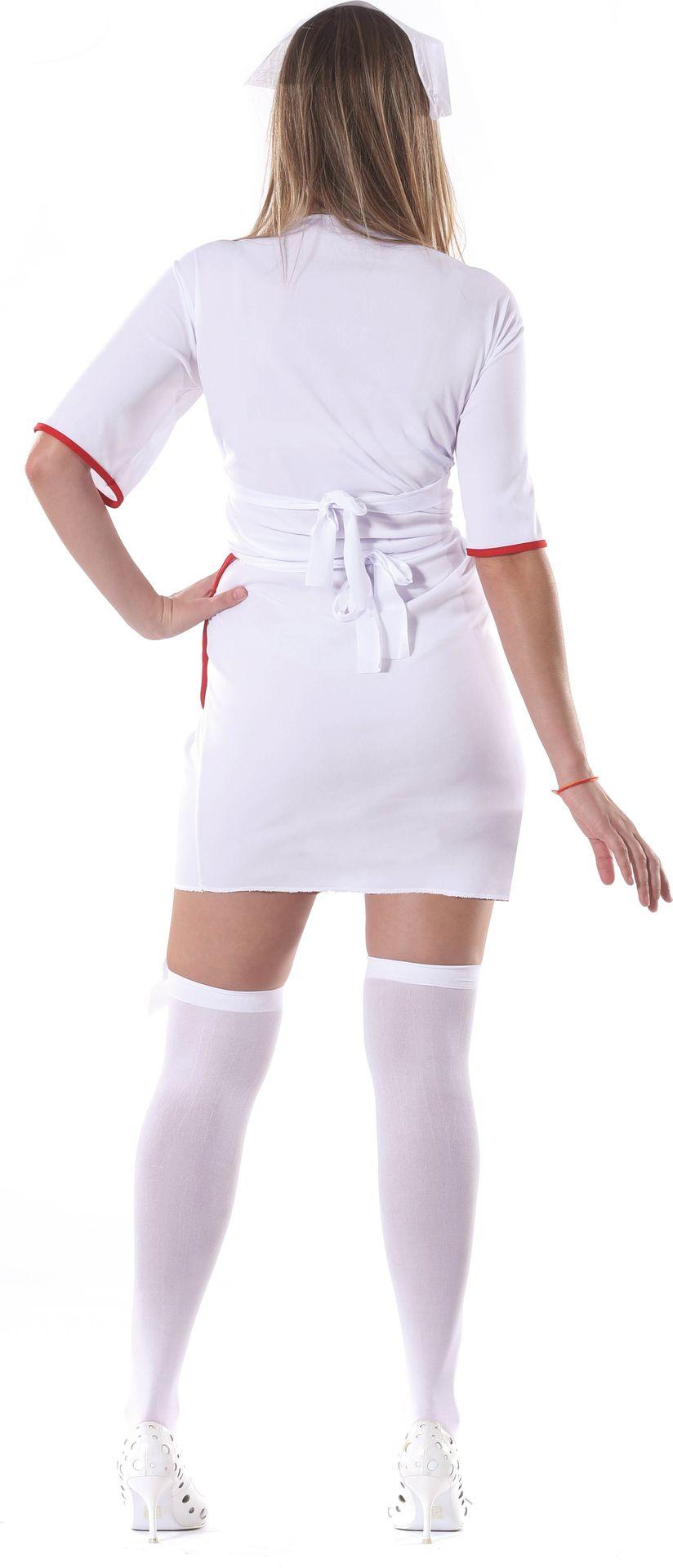 Wit zuster kostuum