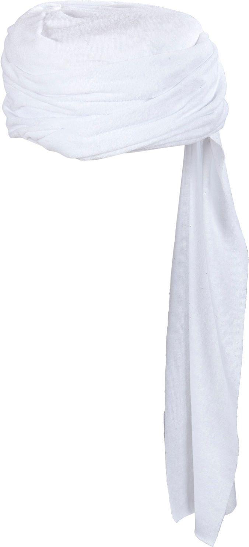 Witte arabische tulband