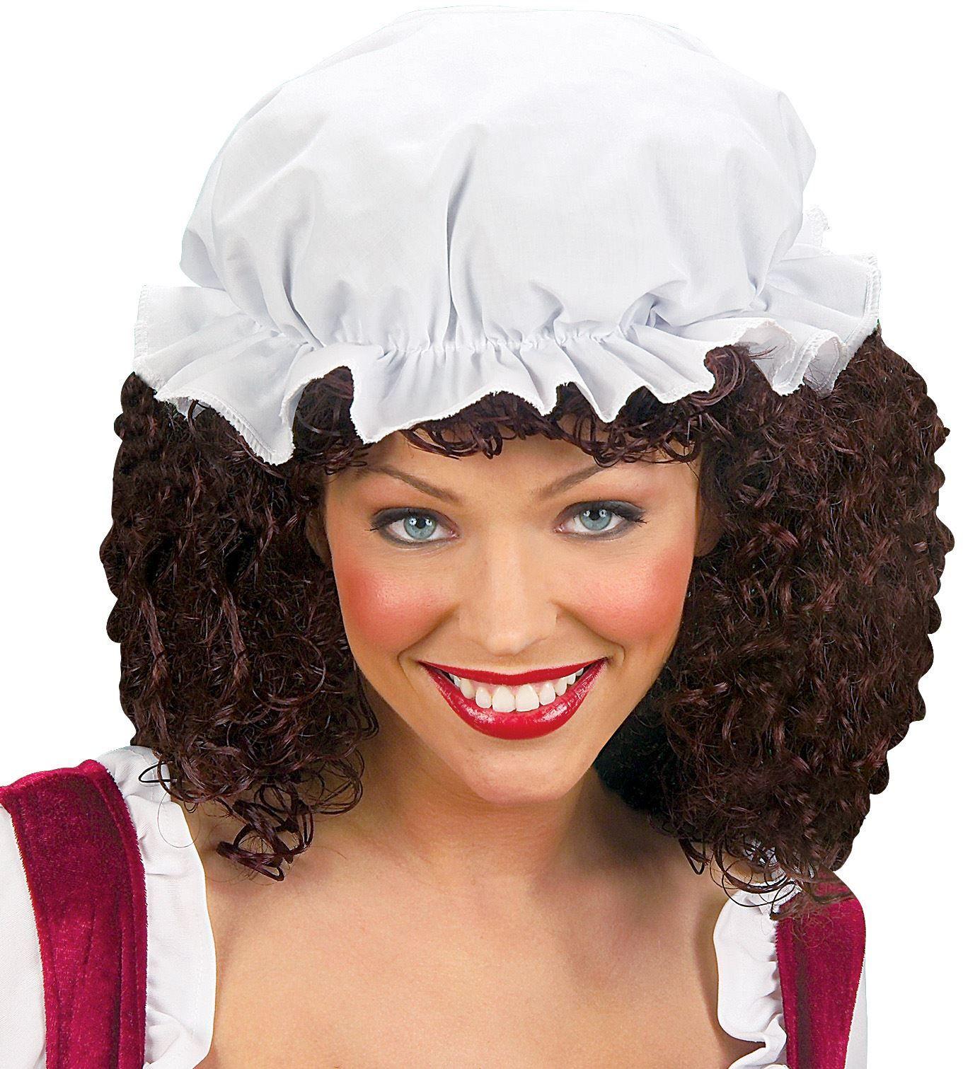 Witte bonnet