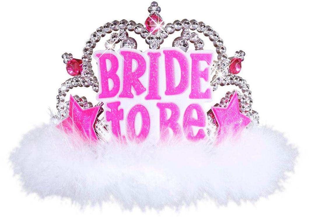 Witte Bride-to-be tiara