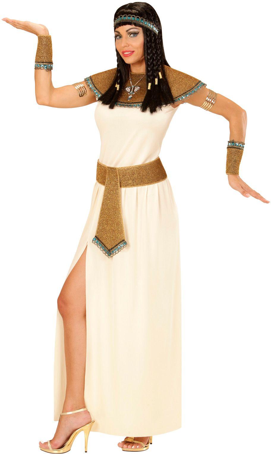 Witte Cleopatra jurk